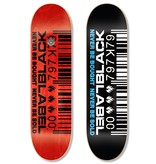 Black Label Barcode 8-1/2 inch wide