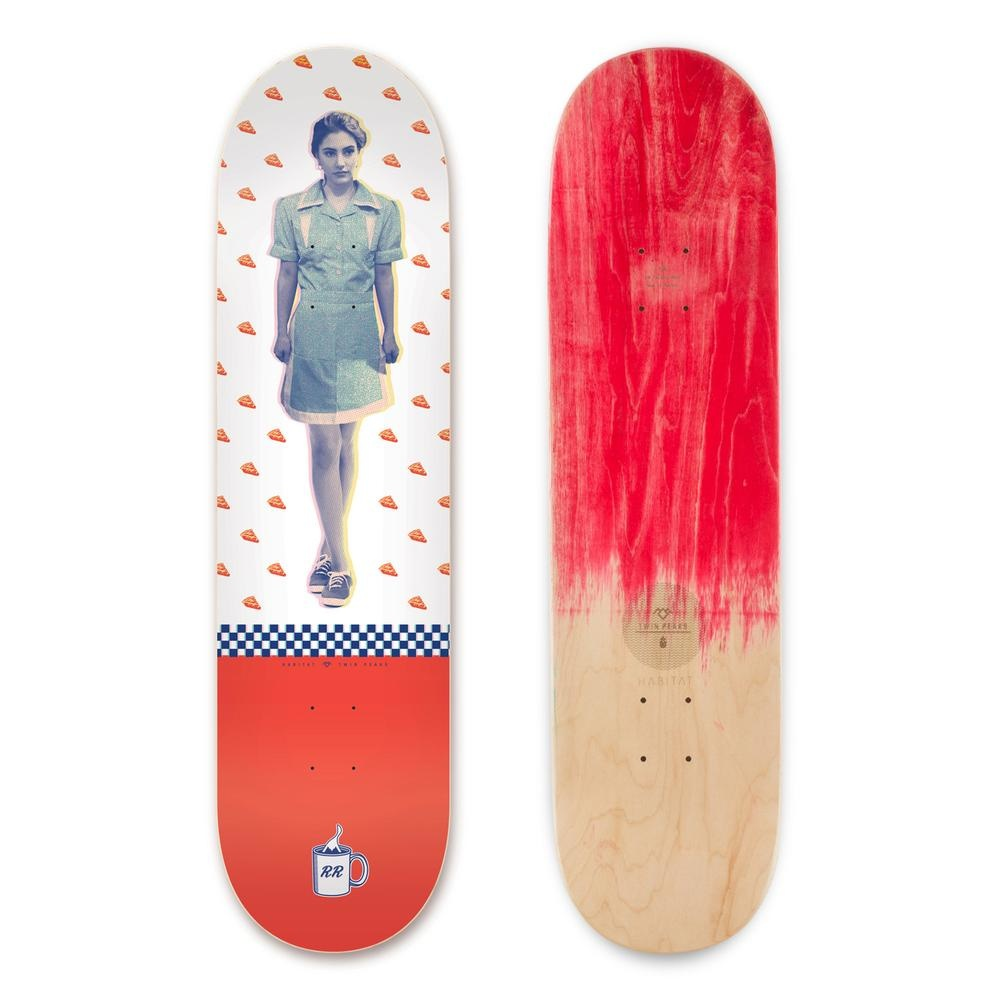 Habitat Shelly Deck 8 3/8 inches wide