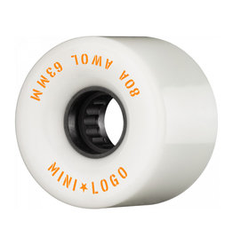 Mini Logo A.W.O.L. 63mm 80A - white