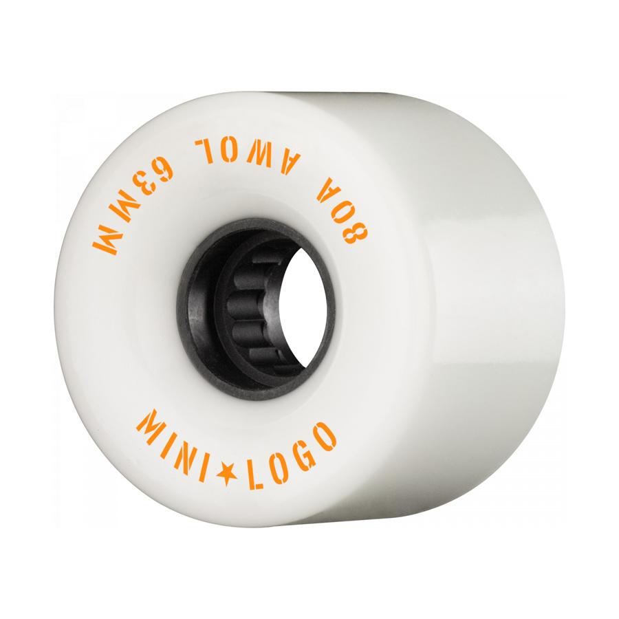 Mini Logo A.W.O.L. 63mm 80A - white