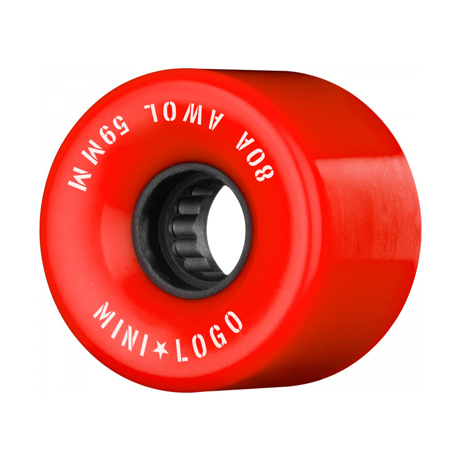Mini Logo A.W.O.L. 59mm 80A - Red