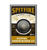 Spitfire Circle Swirl Lapel Pin