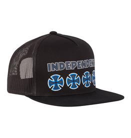 Independent Primary Mesh Trucker - black