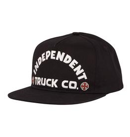 Independent Bold Snapback - black