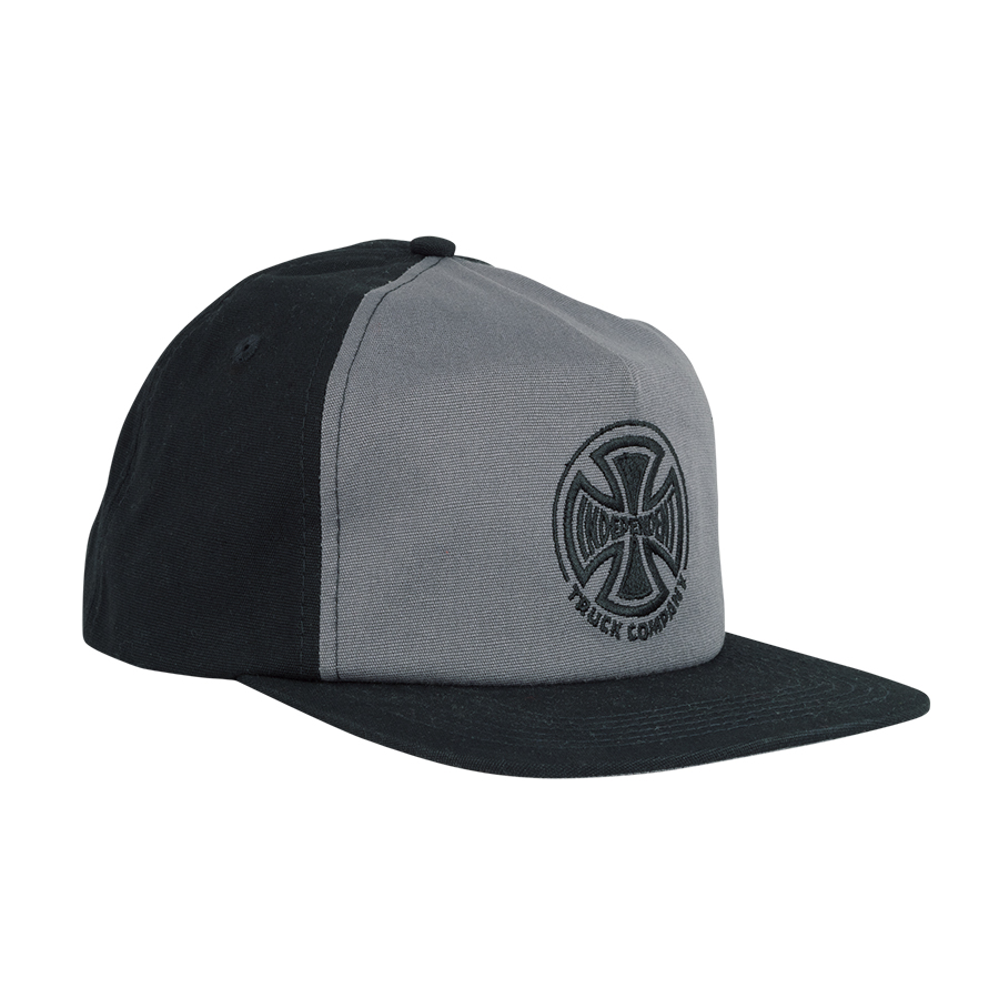 Independent Truck C. Embroidery Cap - grey/black