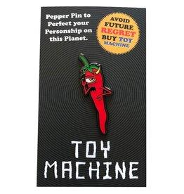 Toy Machine Pepper Lapel Pin