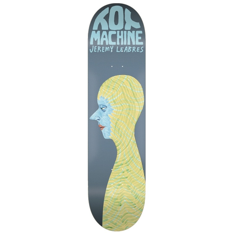 Toy Machine Jeremy Leabres 8-1/8 wide - Head
