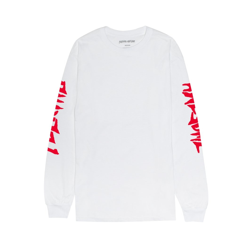 Fucking Awesome Collage L/S Tee - White