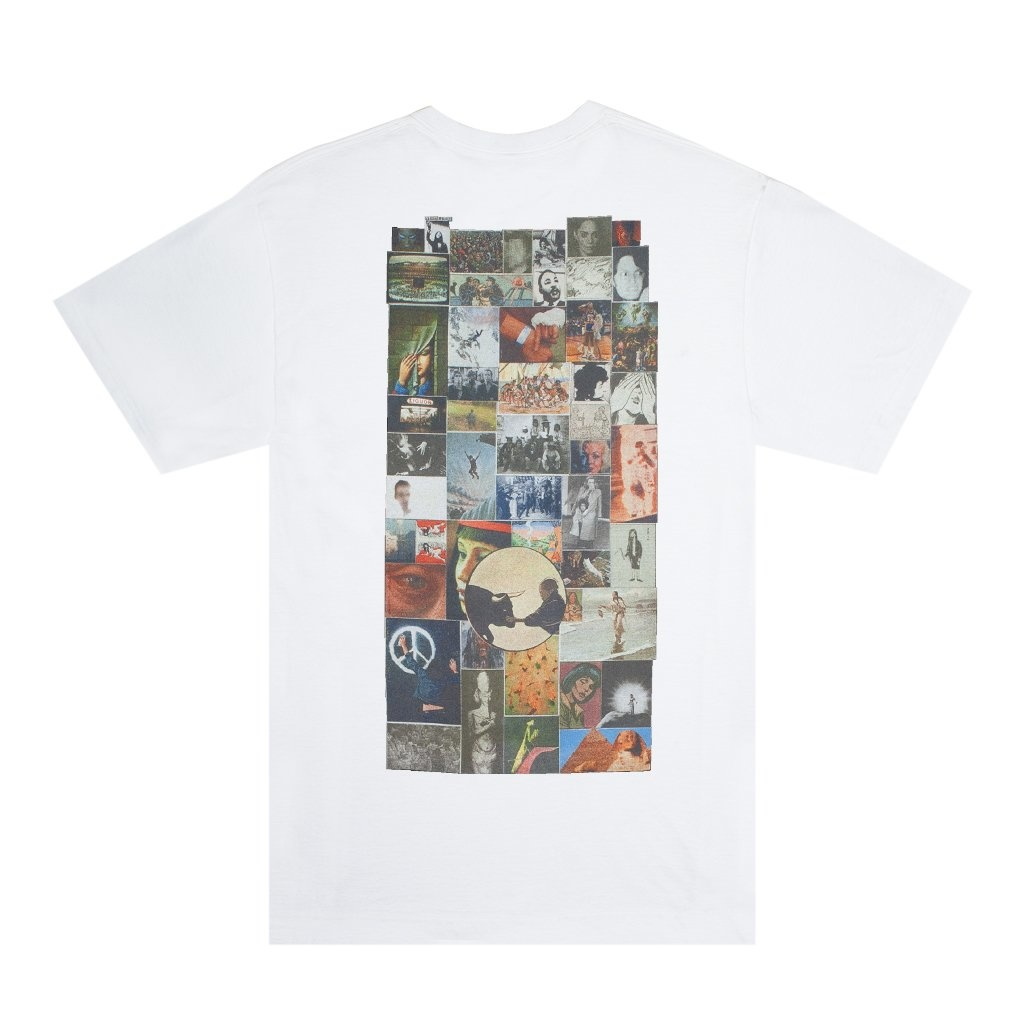 Fucking Awesome Collage Tee - White