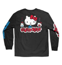 Girl Hello Kitty L/S Tee - Black