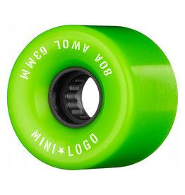 Mini Logo A.W.O.L. 63mm 80A - Green
