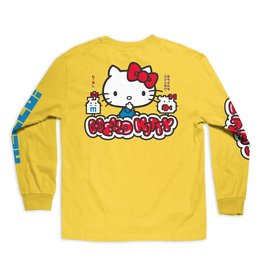 Girl Hello Kitty L/S Tee - Yellow