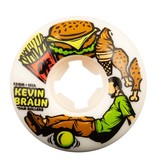 53mm 101a - Kevin Braun Foam Rollers Elite EZ EDGE
