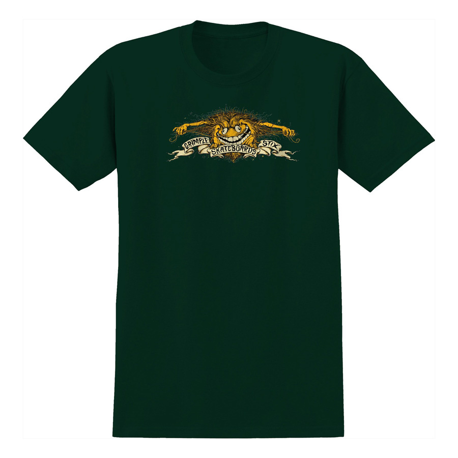 Anti-Hero Grimple Eagle Tee - Forest Green