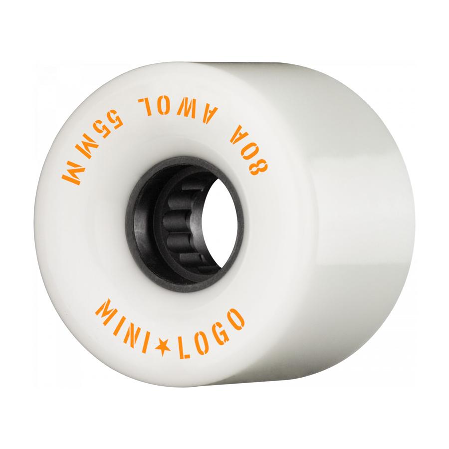 Mini Logo A.W.O.L. 55mm 80A - white