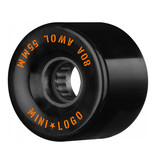 Mini Logo A.W.O.L. 55mm 80A - Black