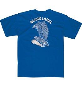 Black Label Vulture Curb Club Tee - Royal Blue