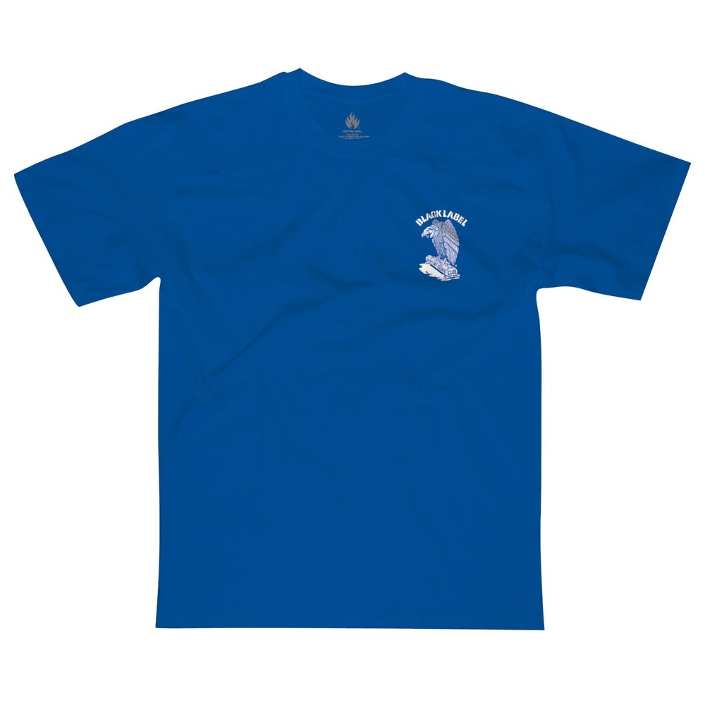 Black Label Vulture Curb Club Tee - Royal Blue