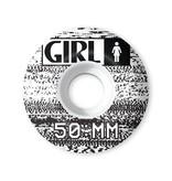 Girl 50mm 99a Static Staple Wheels