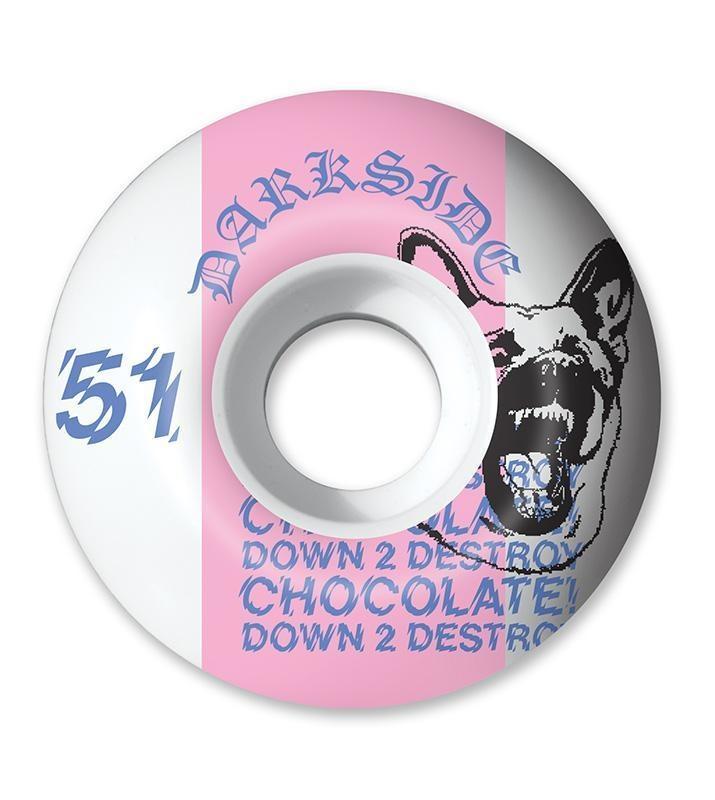 Chocolate 51mm 99a Darkside Staple Wheels