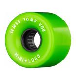 Mini Logo A.W.O.L. 55mm 80A - Green