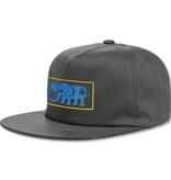 Black Label Elephant Frame Cap - Charcoal