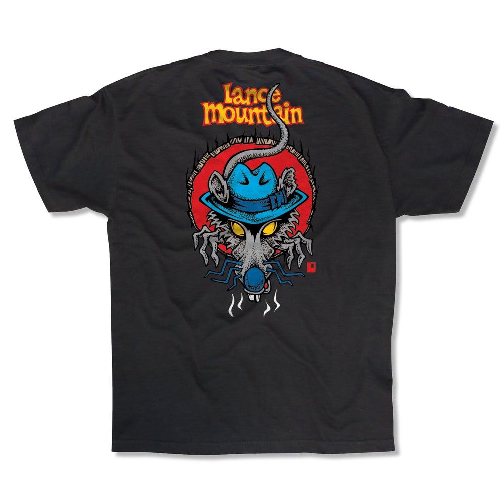 Black Label Lance Mountain Rat Trap Tee