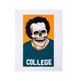 Girl Sean Malto Skull of Fame Print