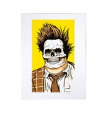 Girl Rick McCrank Skull of Fame Print