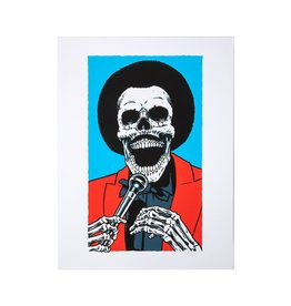 Girl Rick Howard Skull of Fame Print