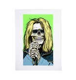 Girl Tyler Pacheco Skull of Fame Print