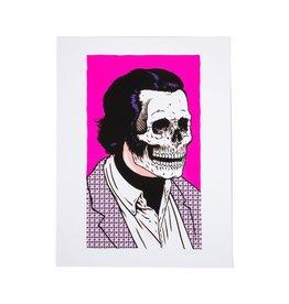 Girl Simon Bannerot Skull of Fame Print
