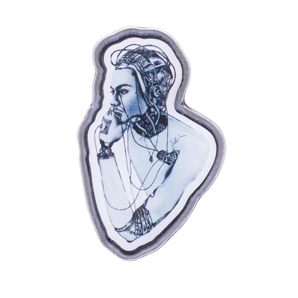 Fucking Awesome Cyborg Lapel Pin