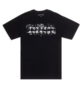Fucking Awesome Block Letters Tee - Black
