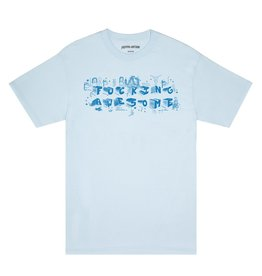Fucking Awesome Block Letters Tee - Chambray