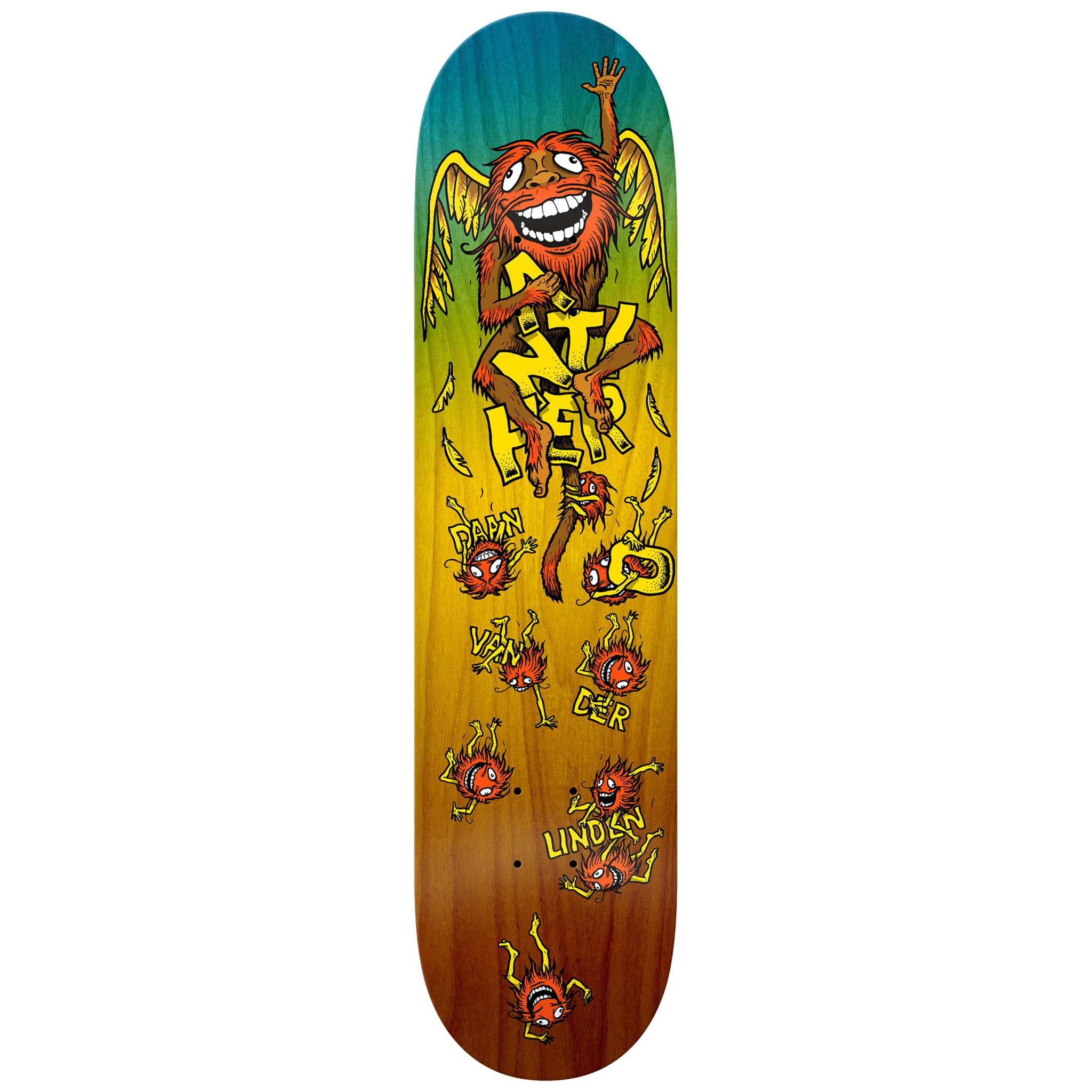 Anti-Hero Daan Van Der Linden 8-3/8 inch wide - Grimple Chimp