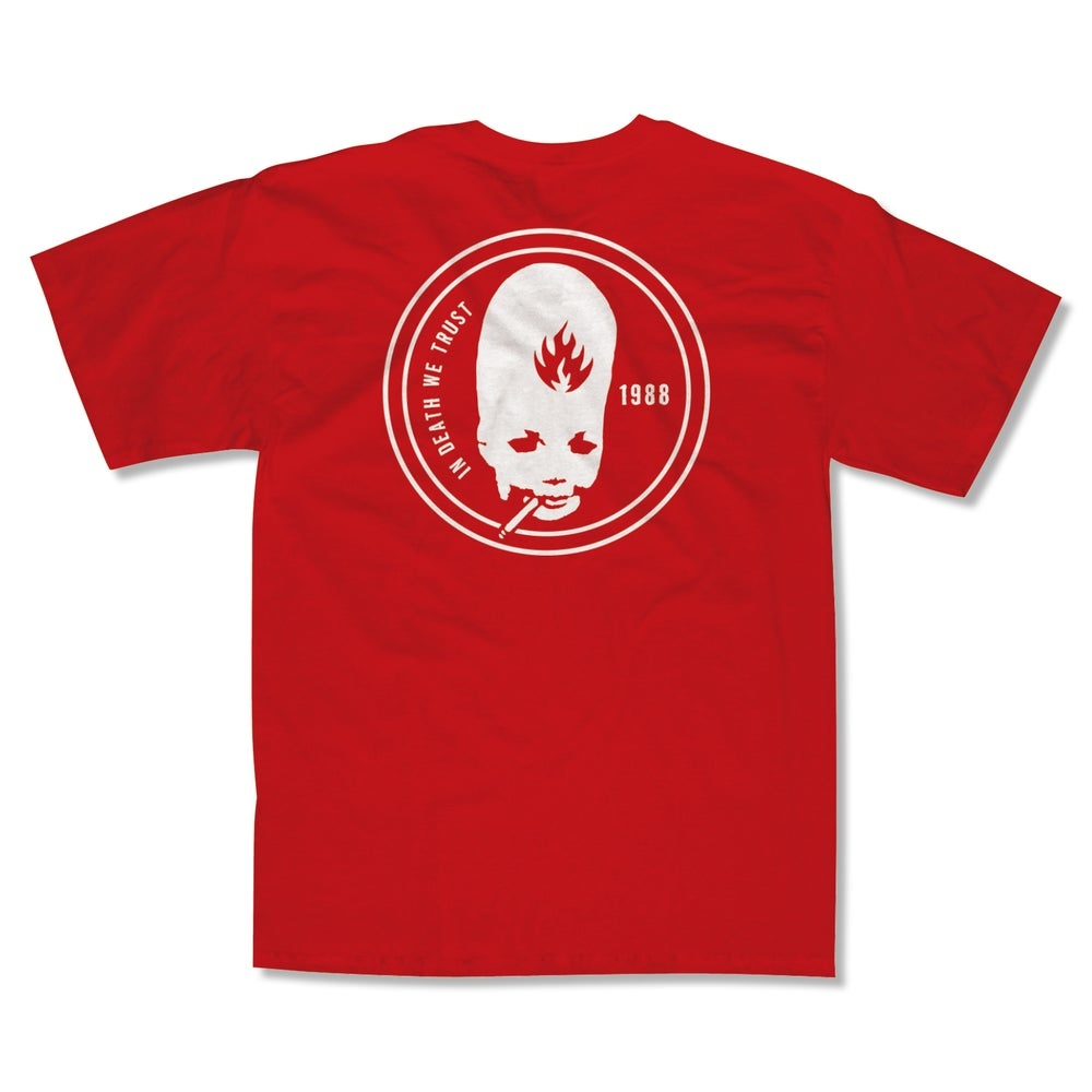 Black Label Trust Tee - Red