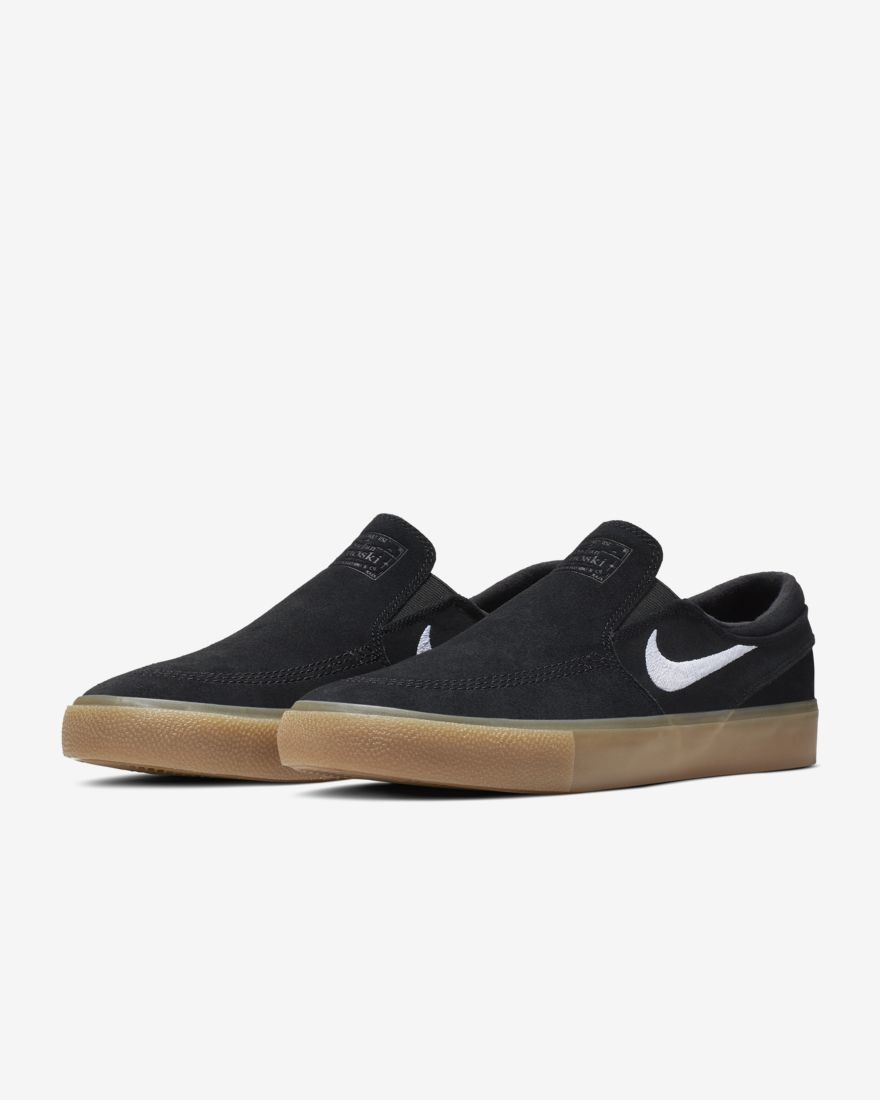 Nike Janoski Slip - Black/Gum