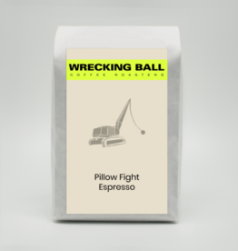 Wrecking Ball Pillow Fight Espresso 12oz (340g)