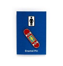 Girl Skateboard Enamel Pin