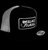 Black Label Elephant Sector Patch Hat - Black/White