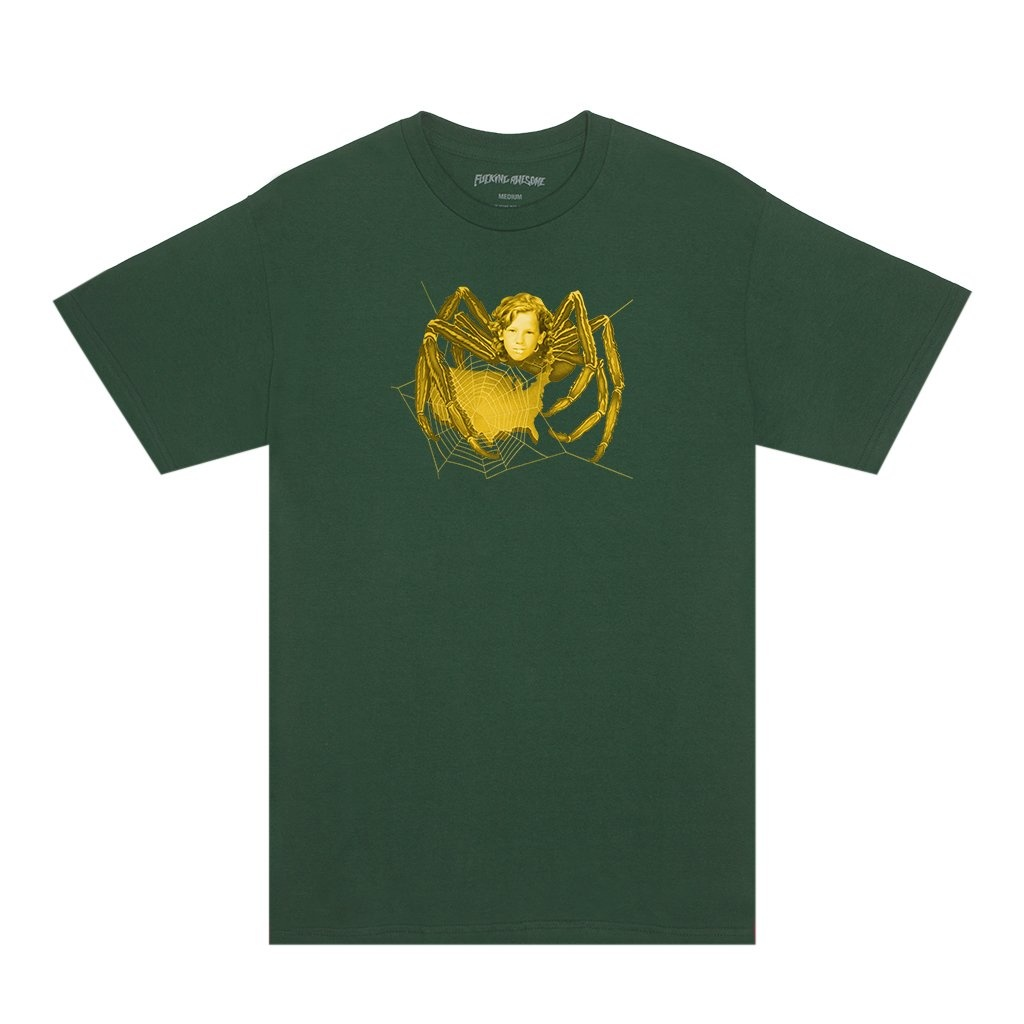 Fucking Awesome Spider Tee - Pigment-Dyed Hemp