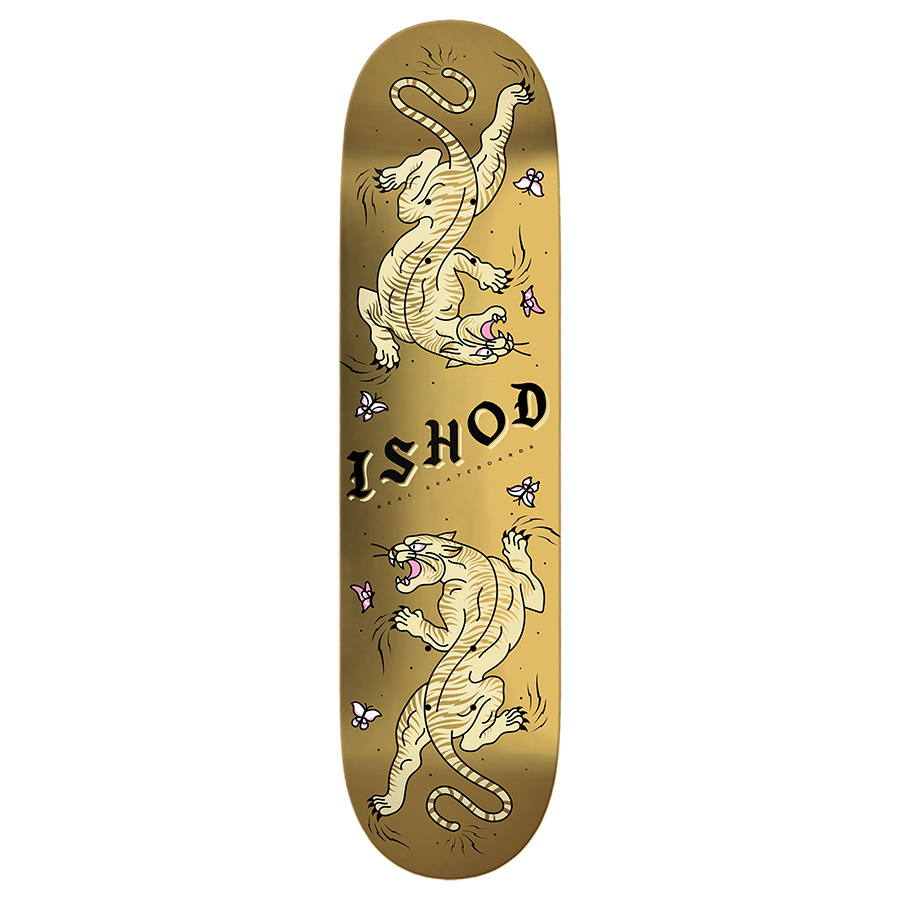 Real Ishod Wair 8-1/4 inch wide - Cat Scratch Gold (Double Tail)