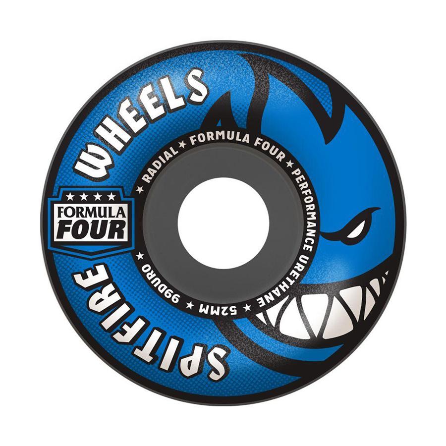 Spitfire Formula Four 56mm 99a Radials- Gray/Blue