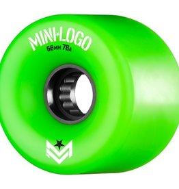 Mini Logo A.W.O.L. 66mm 78A - green