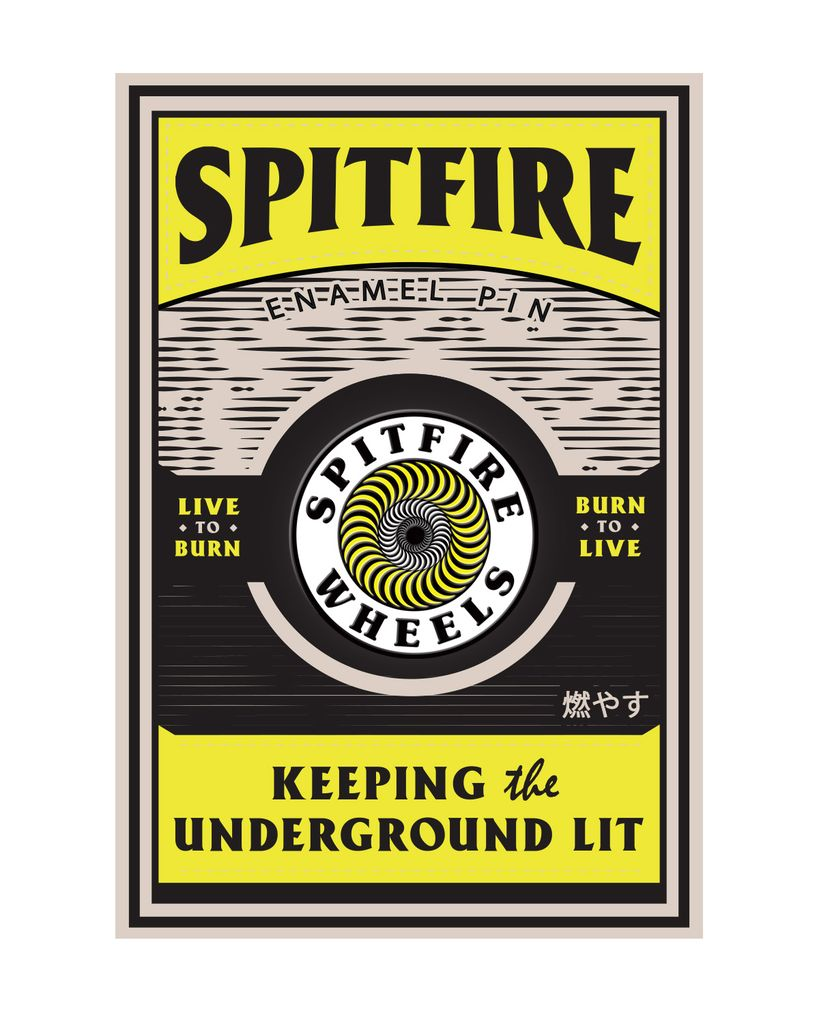 Spitfire OG Circle - yellow