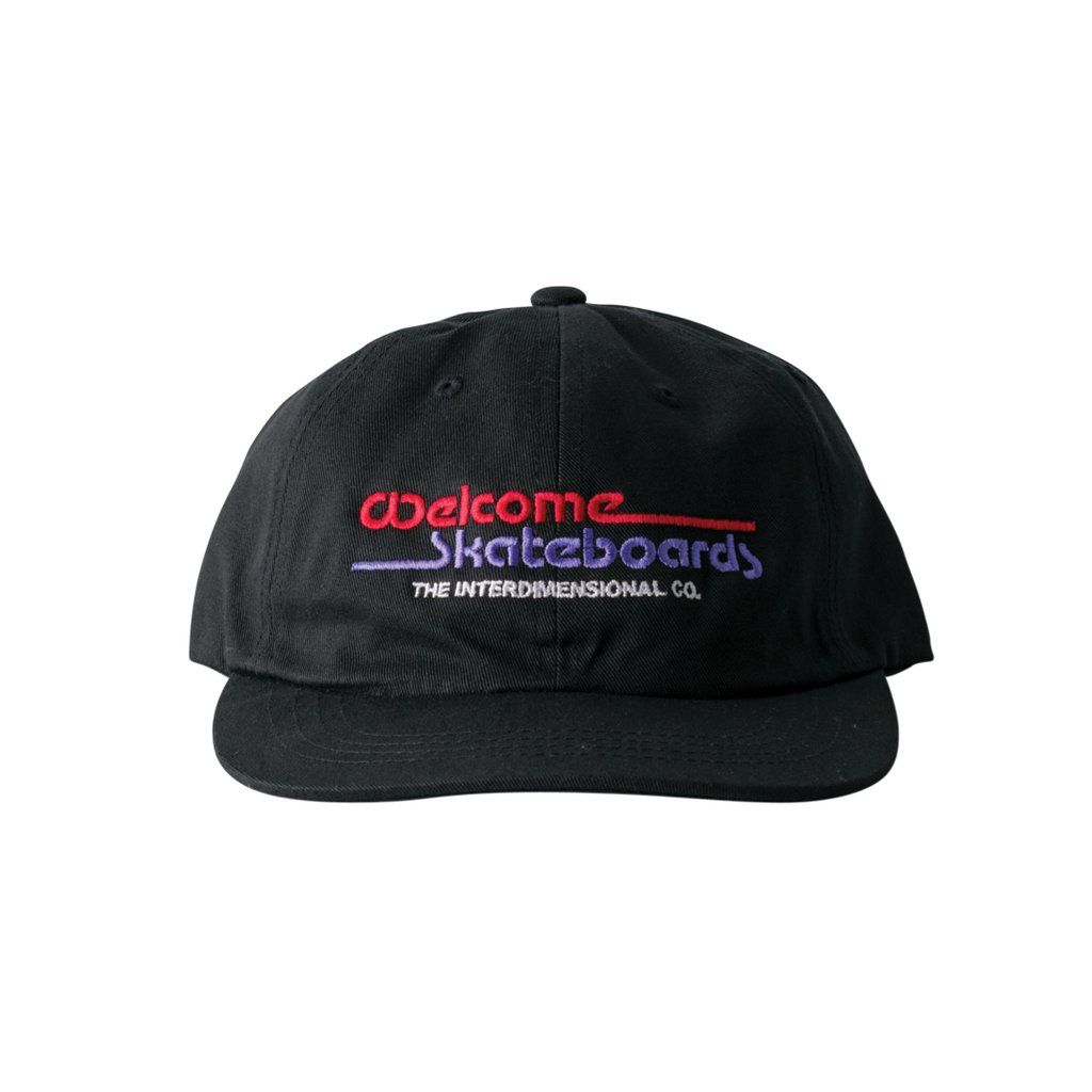 Welcome Interdimensional snapback cap - black