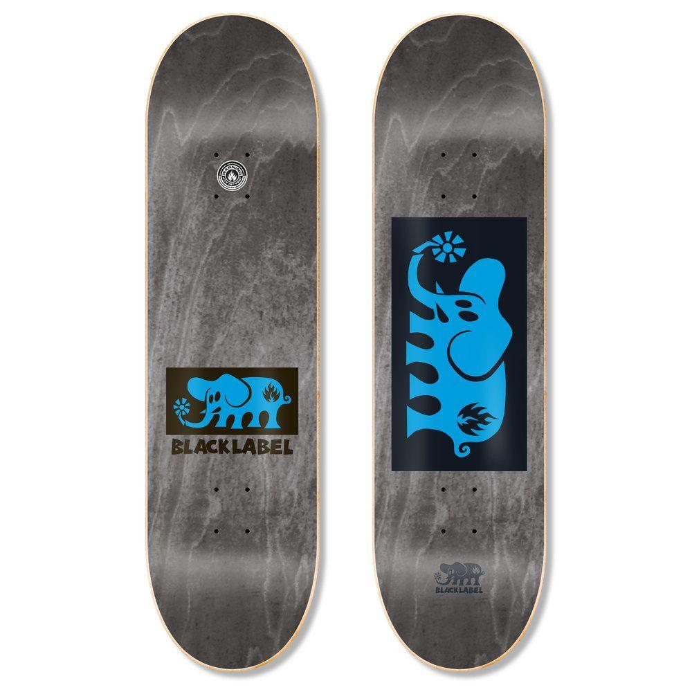 Black Label Elephant Block 8 inch wide