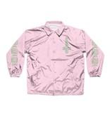 Chocolate Darkside Microchip Coach Jacket - Pink