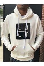 CULT OF INDIVIDUALITY WHITE LOGO PULLOVER